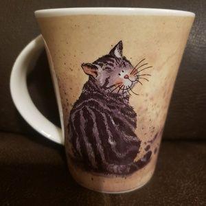 Queen's Cat coffee mug